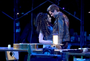 Tinashe and Brennin Hunt in RENT