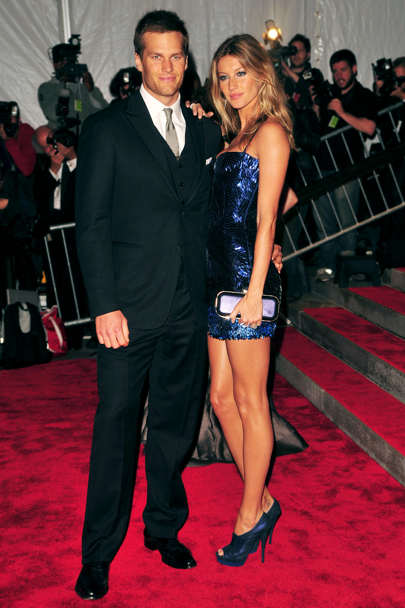 Tom Brady and Gisele Bundchen: A Timeline of Their Relationship - After two years of dating, Brady and Bündchen got engaged in January 2009.