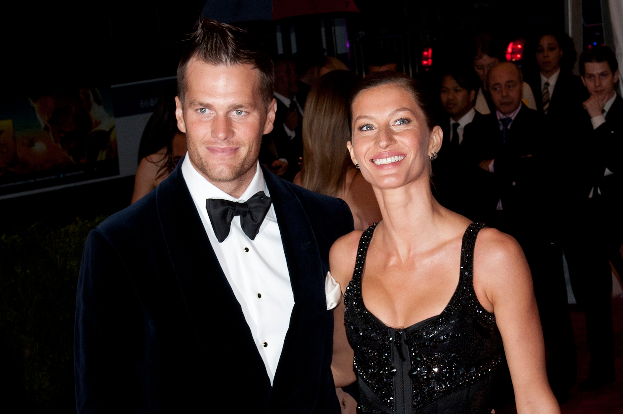Tom Brady and Gisele Bundchen: A Timeline of Their Relationship - Brady and Bündchen welcomed their first child together, a son named Benjamin, in December 2009.