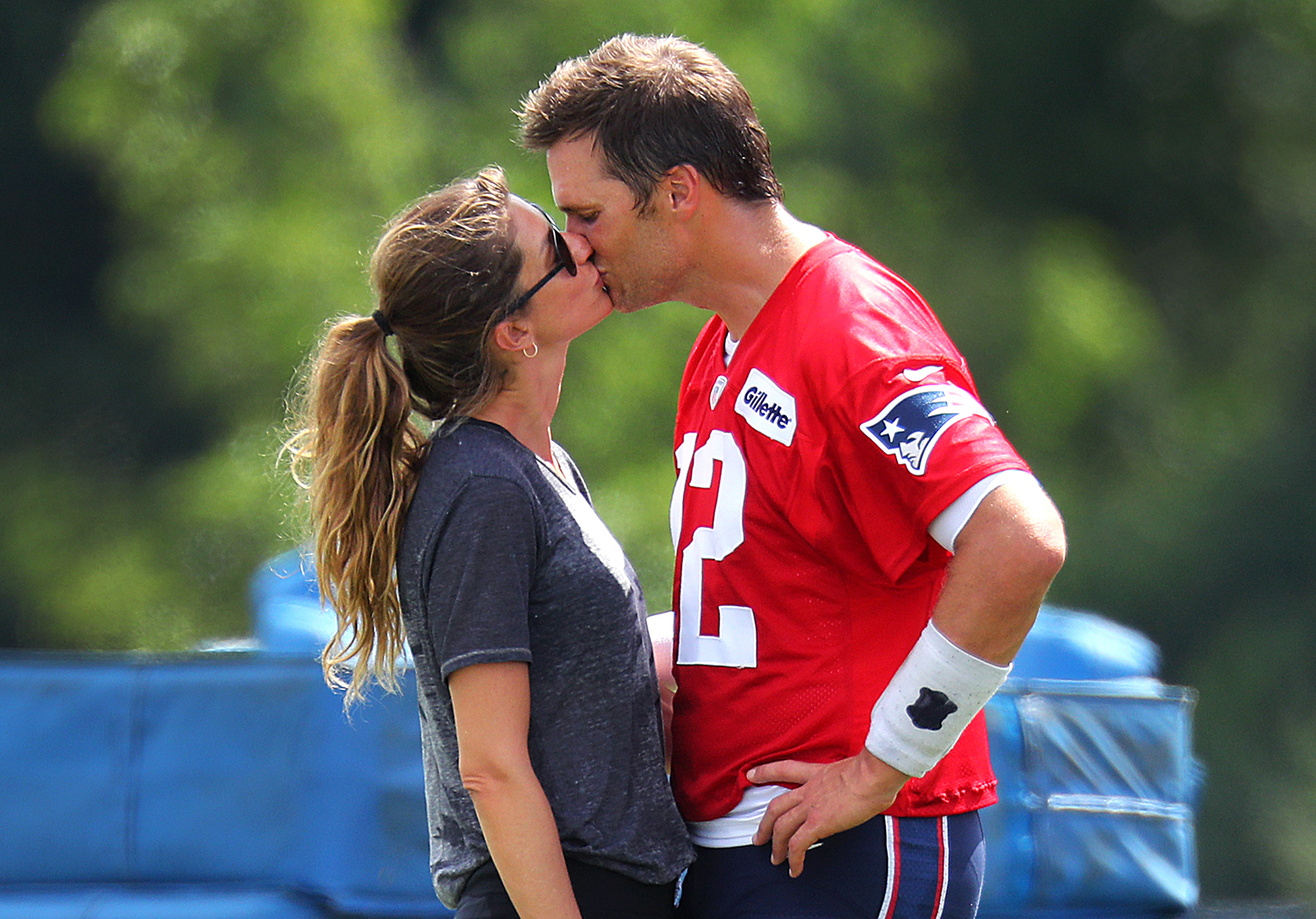 Tom Brady and Gisele Bundchen: A Timeline of Their Relationship - Three years later, the Brady family grew again. The Brazilian model gave birth to their daughter, Vivian, in December 2012.