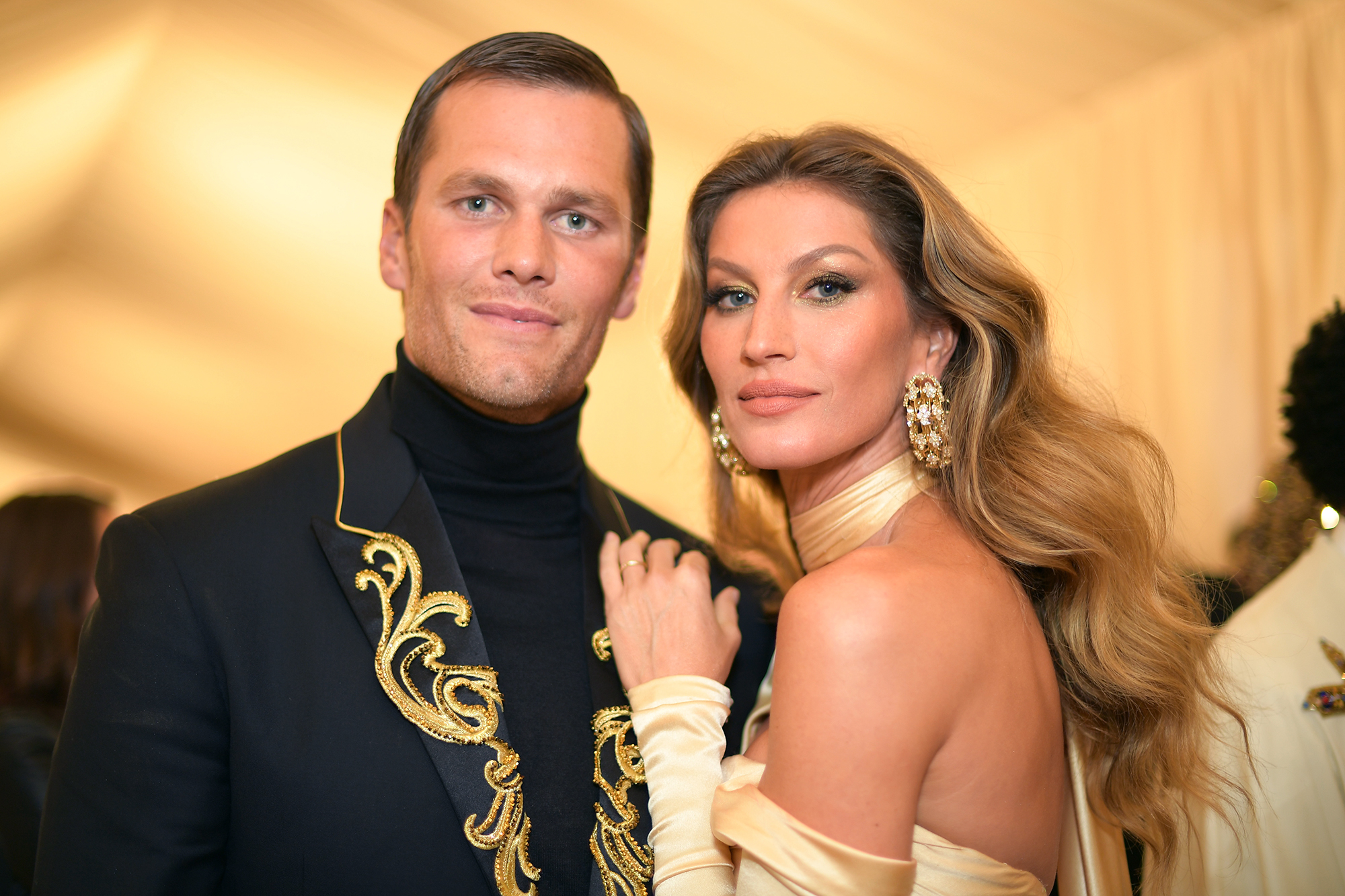 Tom Brady and Gisele Bundchen: A Timeline of Their Relationship - Tom Brady and Gisele Bundchen attend the Heavenly Bodies: Fashion & The Catholic Imagination Costume Institute Gala at The Metropolitan Museum of Art on May 7, 2018 in New York City.