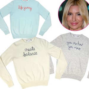 Tracy Anderson x Lingua Franca Will Keep You Cozy For a Good Cause