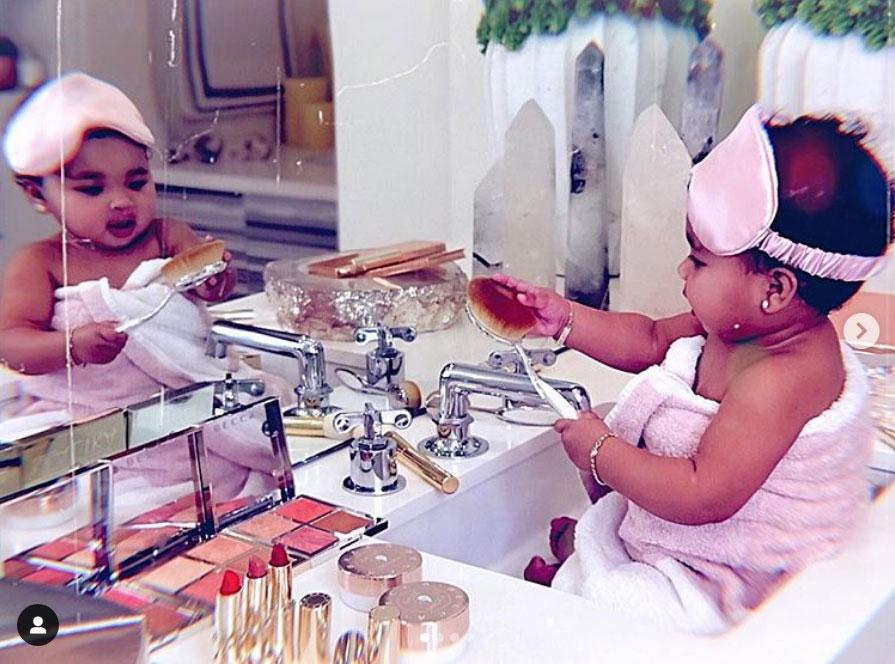 Like Mother, Like Daughter! Khloe Kardashian's Daughter True