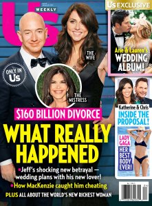 Us Weekly Cover Jeff Bezos Lauren Sanchez