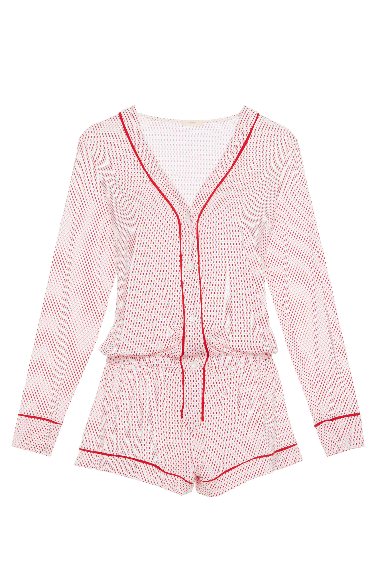 Valentine's Day Gift Guide 2019: Beauty and Fashion Ideas for the Lady in Your Life - This flirty romper is equal parts cozy and cute. $111, eberjay.com