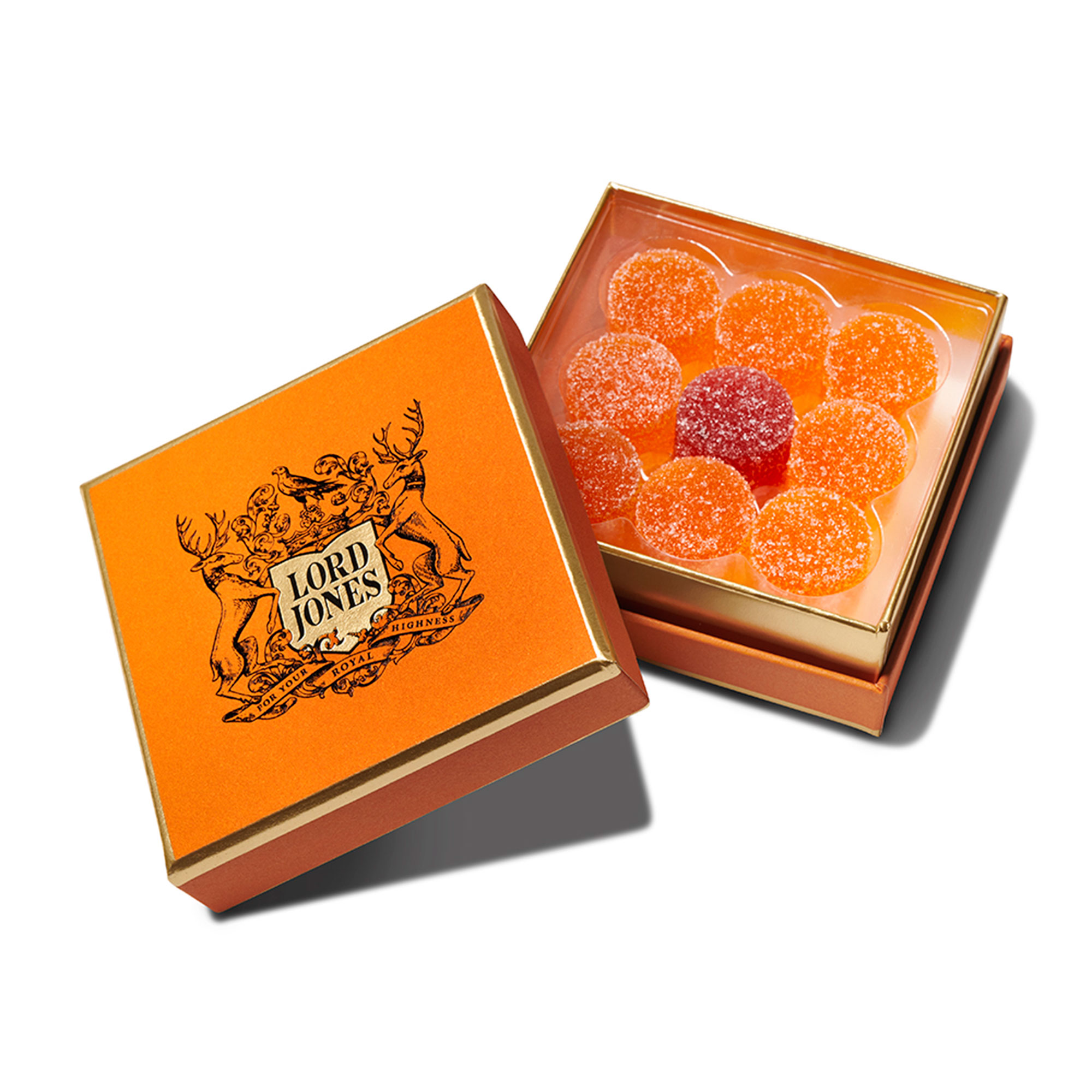 Valentine's Day Gift Guide 2019: Beauty and Fashion Ideas for the Lady in Your Life - Her favorite edibles get a romanic twist with this limited-edition nine-pack of the CBD brand's cult-favorite gummies. The Passion Fruit and Red Raspberry-flavored candies each pack 20 mg of non-psychoactive CBD and have a slightly tart flavor.