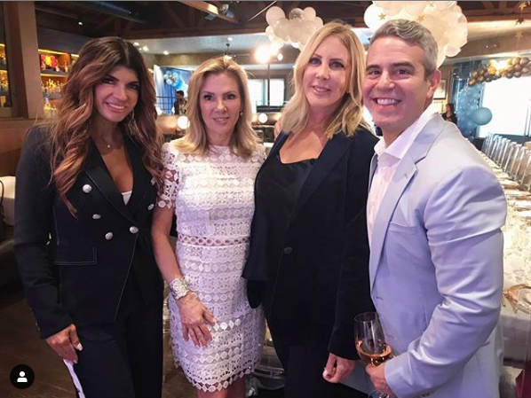 andy cohen baby shower, real housewives, teresa giudice, vicki gunvalson, ramona singer