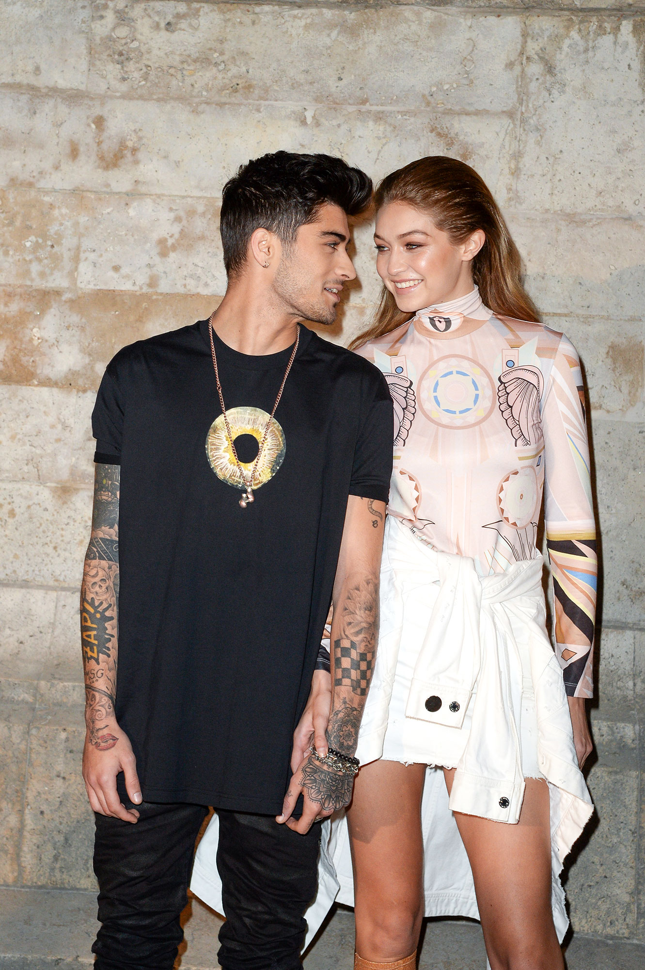 "Revisit Zayn Malik and Gigi Hadid's Sweetest Quotes About Their Relationship - ""I wrote the song earlier this year,"" Malik revealed during an April 2018 appearance on On Air With Ryan Seacrest . ""I've been working on the album for just over a year. I wrote everything myself — I'm super proud of it. I was in love and I think that's pretty evident and I was aspiring to be in love with someone for the rest of my life and the rest of theirs, as we all do."""