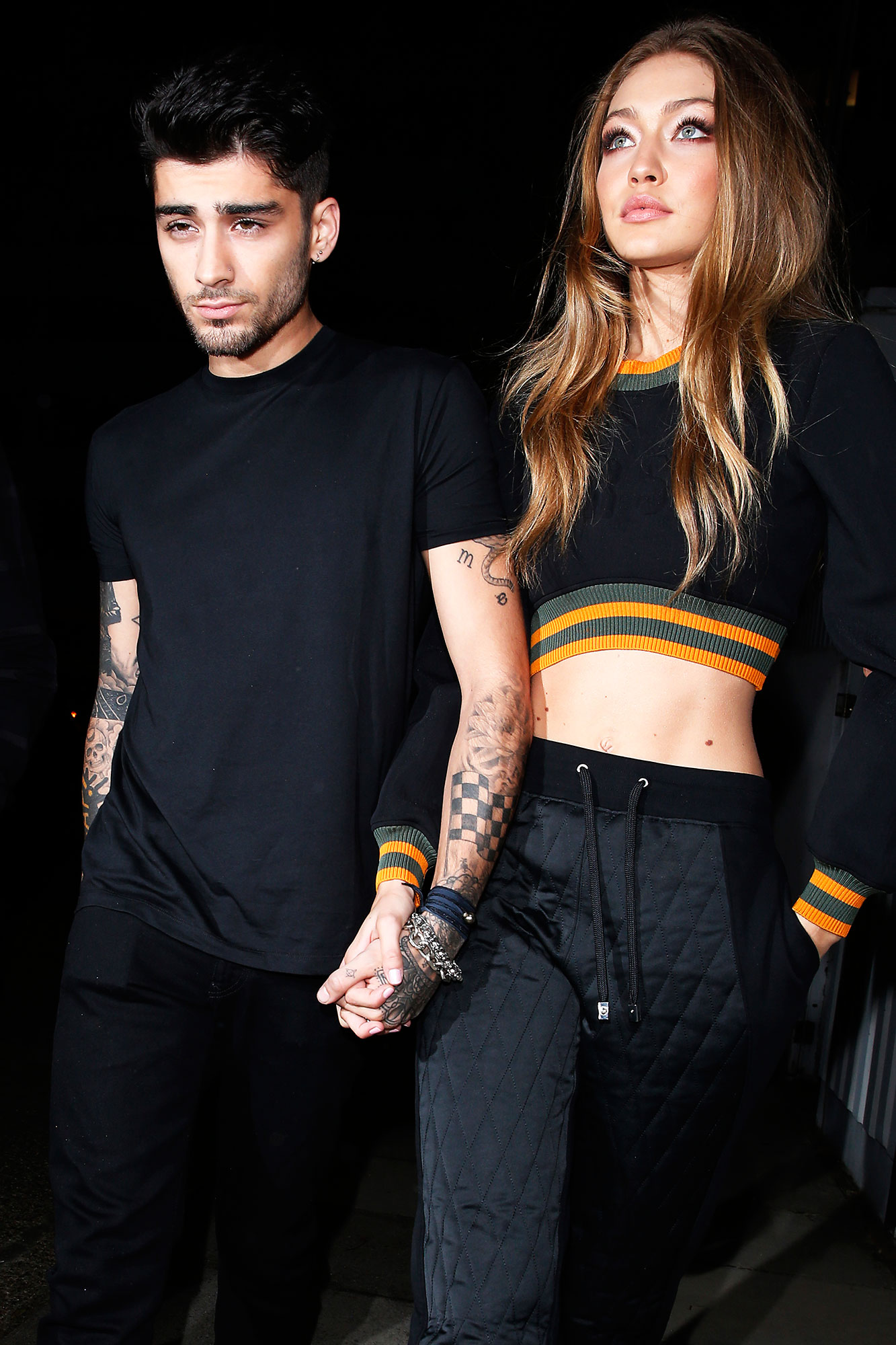 "Revisit Zayn Malik and Gigi Hadid's Sweetest Quotes About Their Relationship - ""I'm really thankful that I met her,"" the former X Factor star told GQ in June 2018. ""We go to the farm. We have horses. I looked like a complete idiot and she looked like a complete professional."""