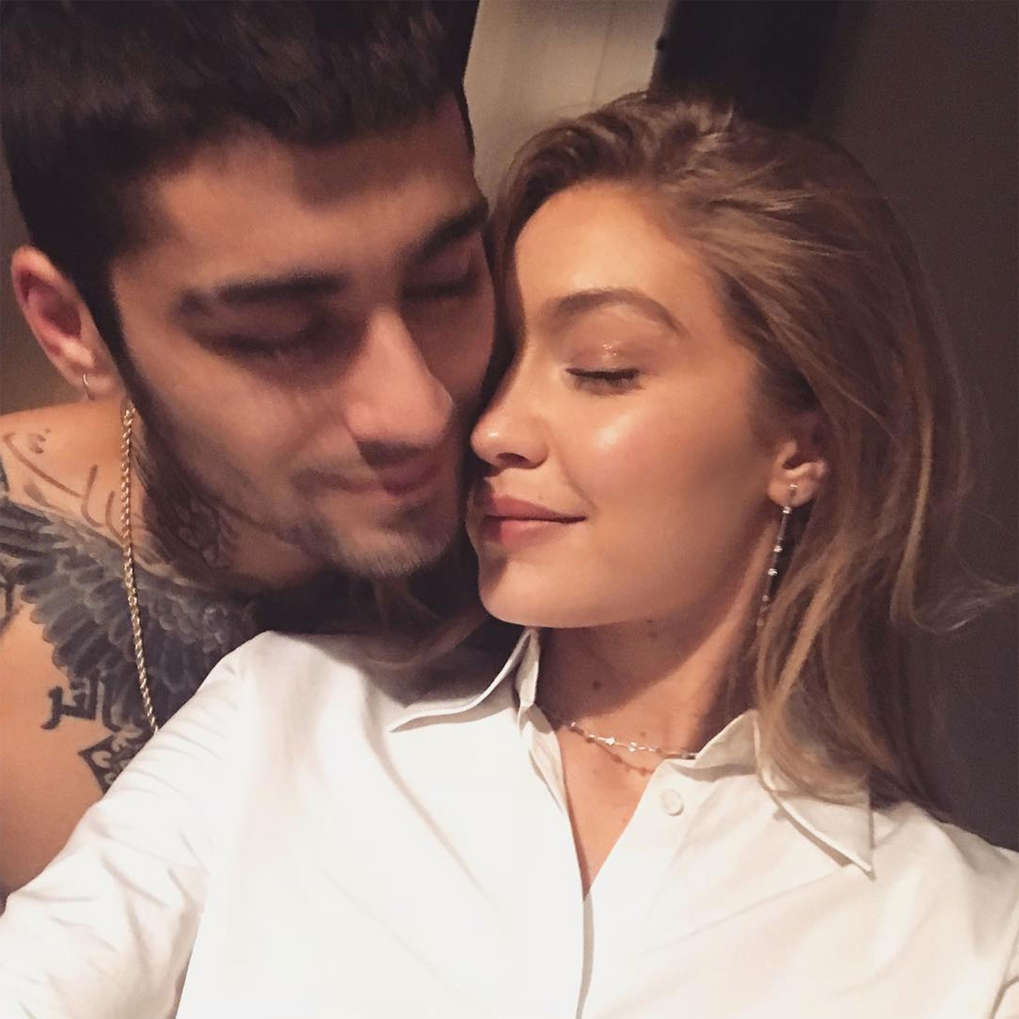 "Revisit Zayn Malik and Gigi Hadid's Sweetest Quotes About Their Relationship - ""flyin home to my happy place ❤️,"" Hadid wrote alongside a selfie of the twosome in October 2018."