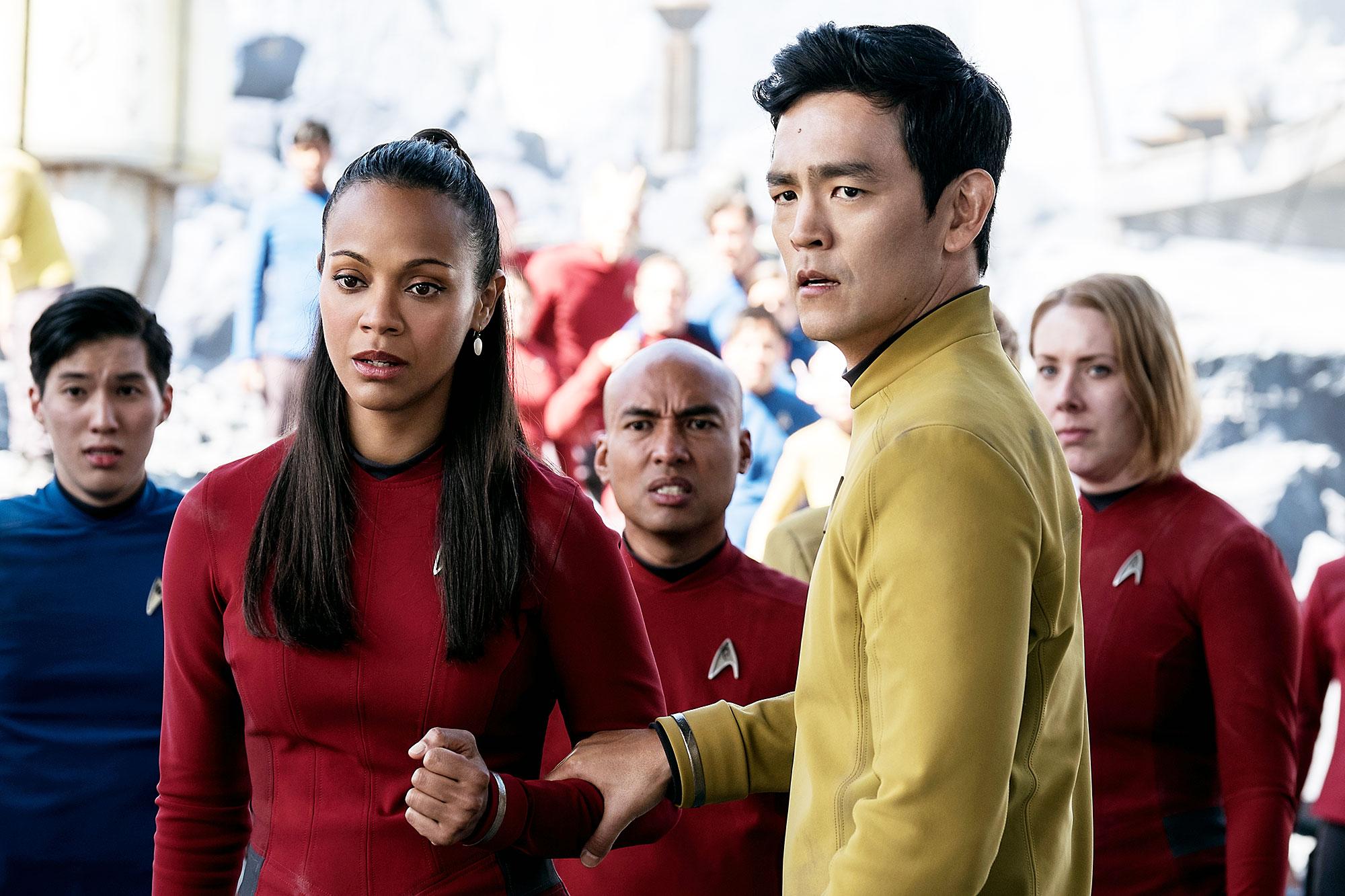 John Cho Optimistic Star Trek 4