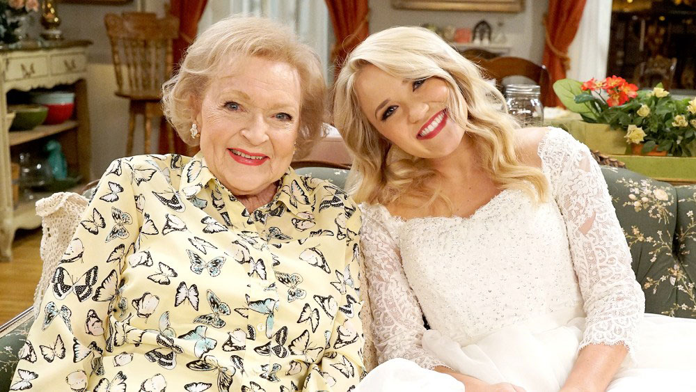 Betty White's Best Moments - White returned to her sitcom roots in March 2017 with a recurring role on Freeform's Young & Hungry . Her character, Mrs. Wilson, focused on schooling Gabi (Emily Osment) about men.