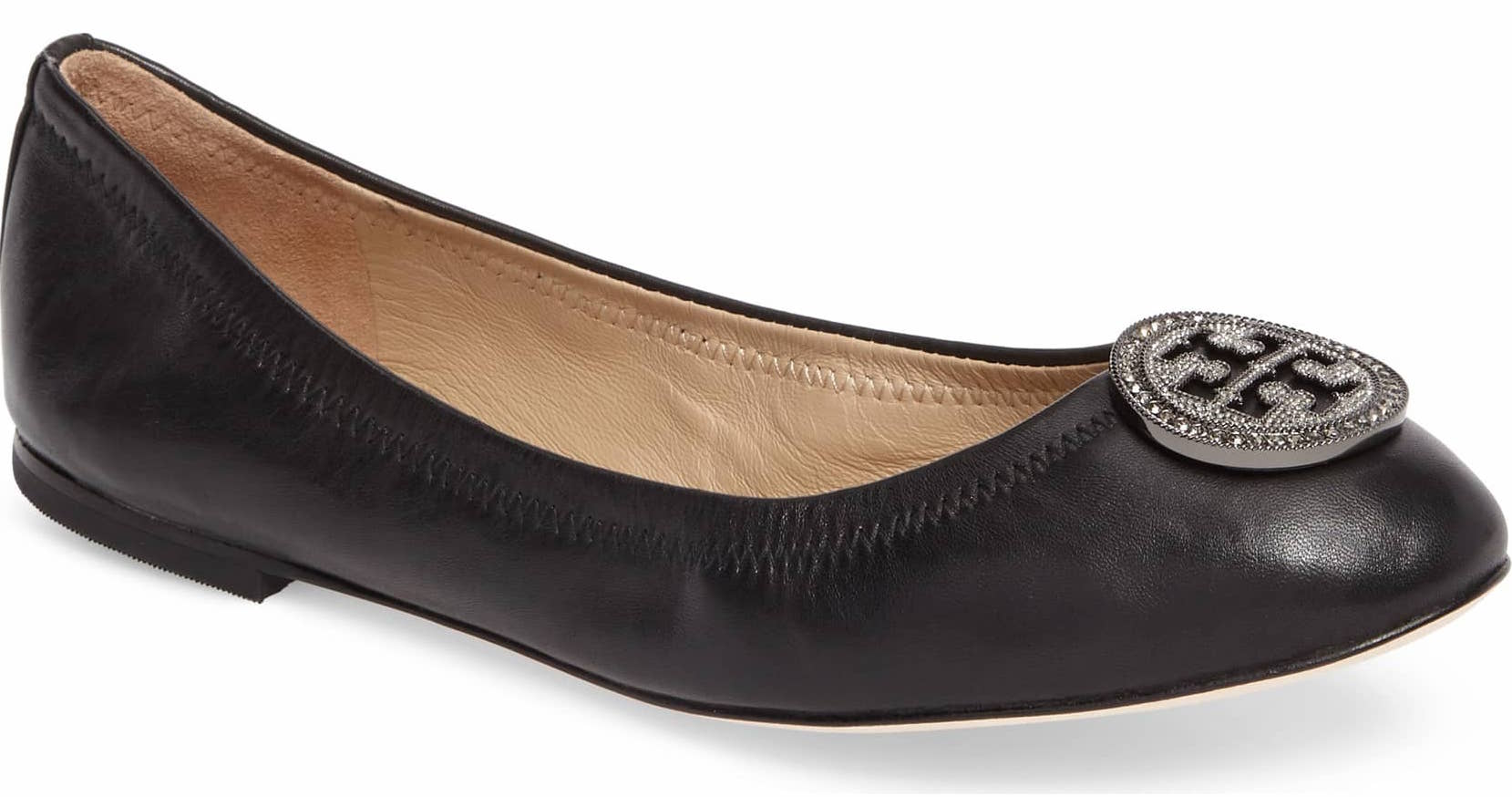 d1f89b308d0ee0 Tory Burch Ballet Flats In Every Color Are on Sale at Nordstrom