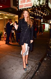 Blake Lively's Latest Outfit Ranks As One of the All-Time Best Pantsless Looks