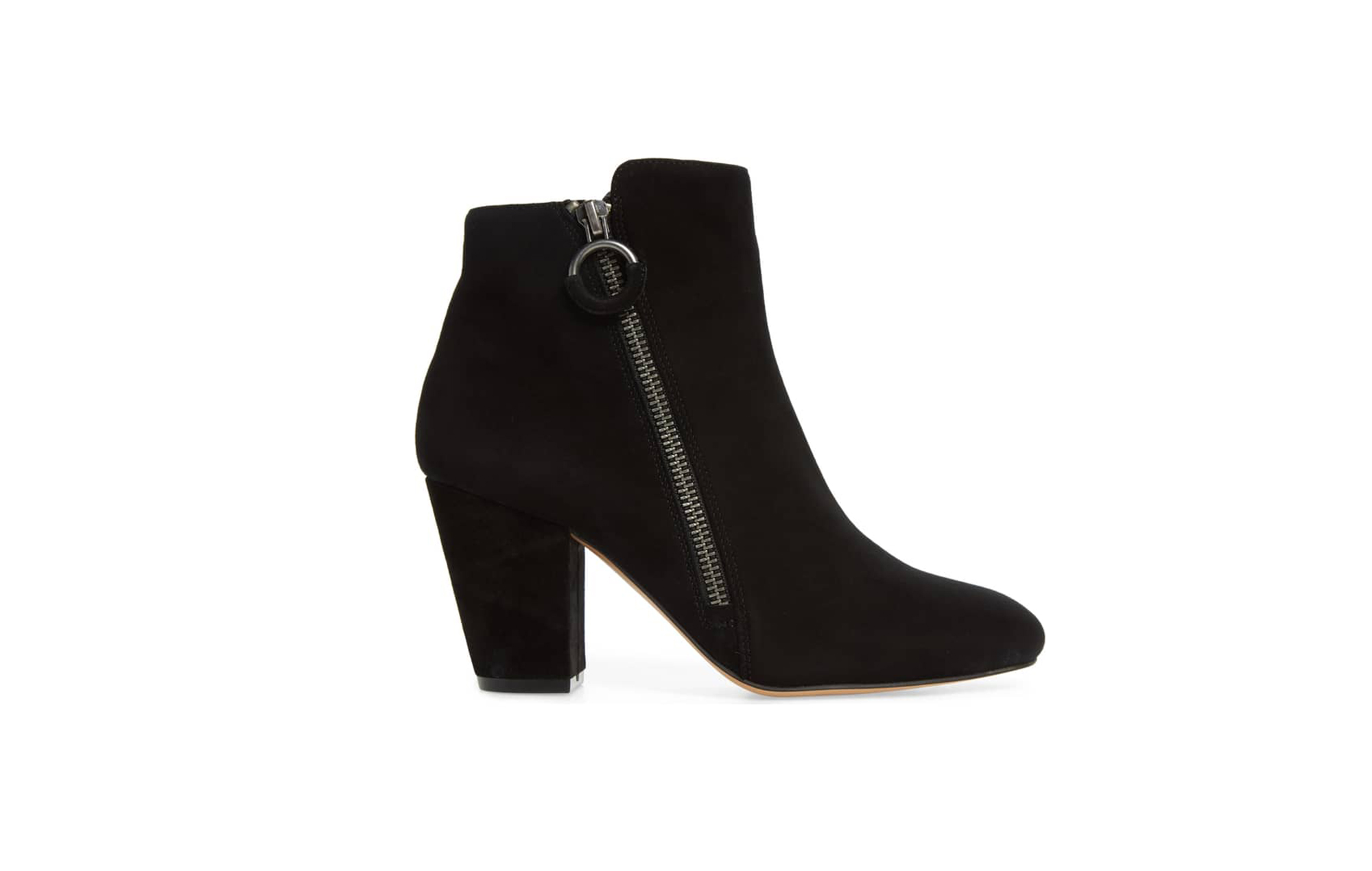 5d924258b These Little Black Booties Are on Sale and Will Never Go Out of ...
