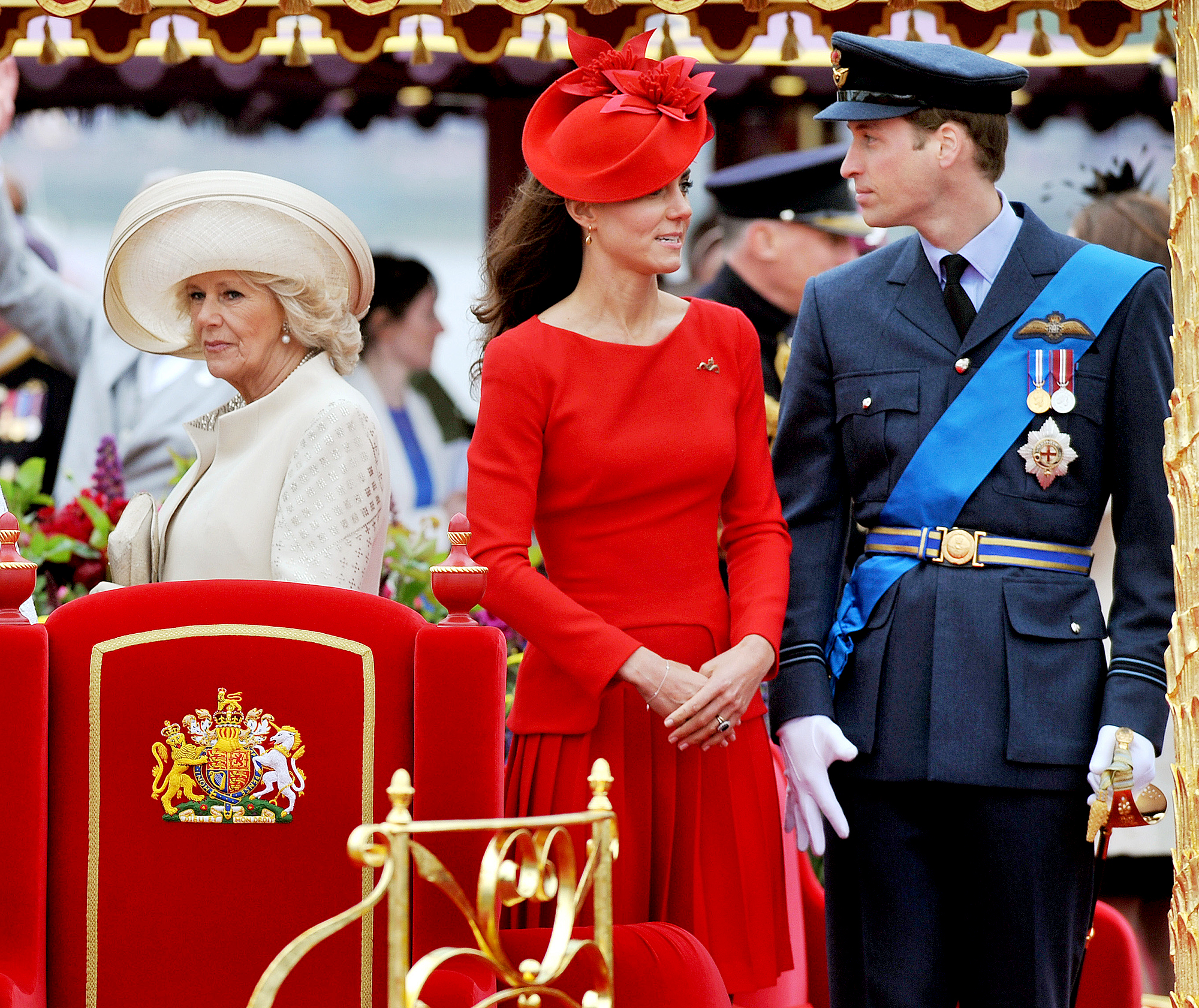 "camilla-duchess-kate-prince-william-feud - Author Christopher Anderson claimed in his 2016 book, Game of Crowns , that Camilla was ""disgusted with William and Kate sucking up all the attention"" while she was trying to win over the public after she married Charles in 2005. The author also alleged that Camilla tried to convince her stepson not break up with Kate in 2007, four years before their 2011 nuptials."