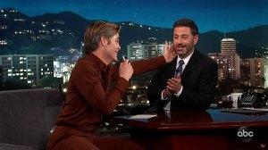 Jimmy Kimmel's Embarrassed Over Chris Pine Rap