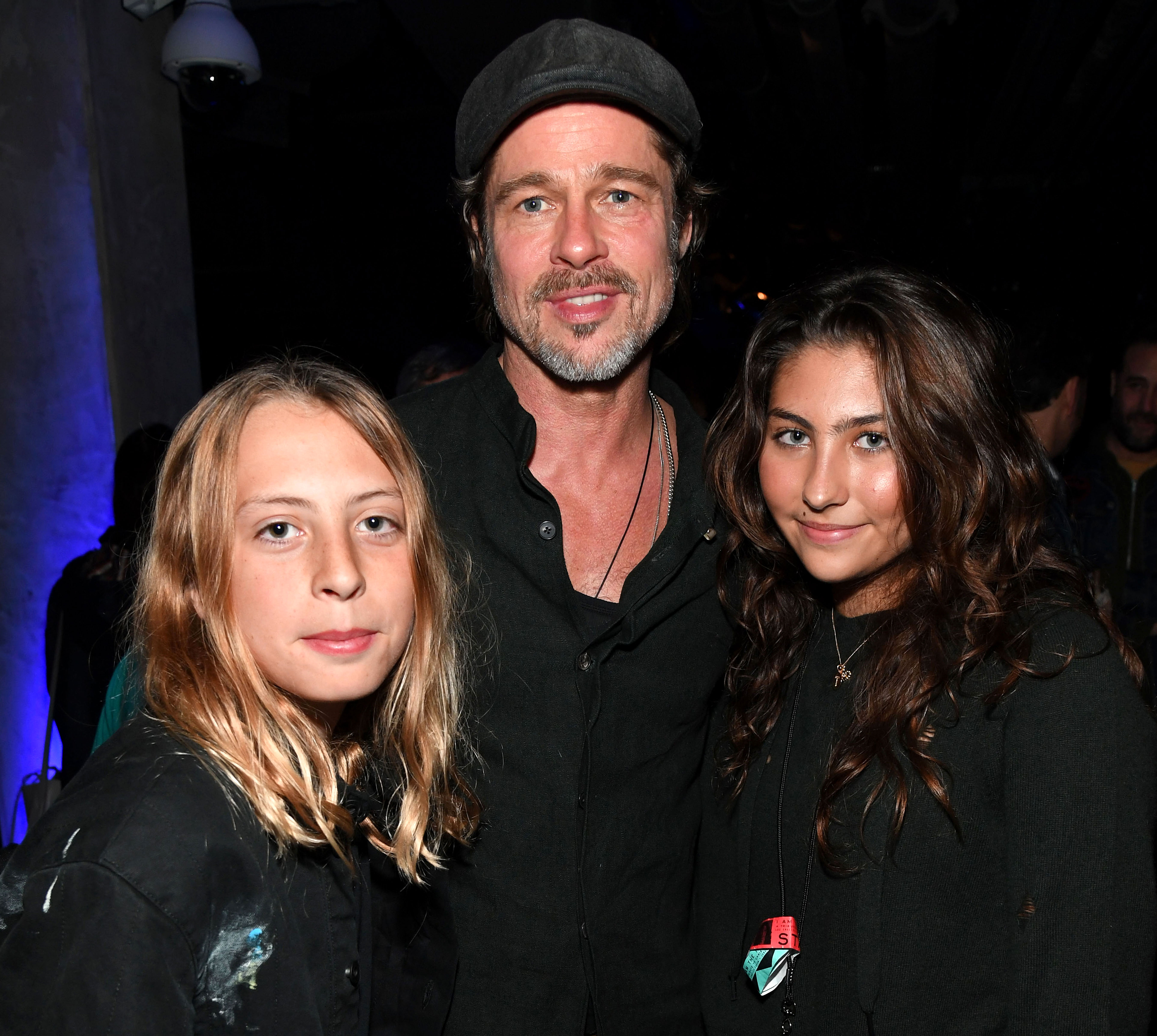 chris cornell tribute concert - The actor posed with Cornell's son, Christopher, and daughter Toni.