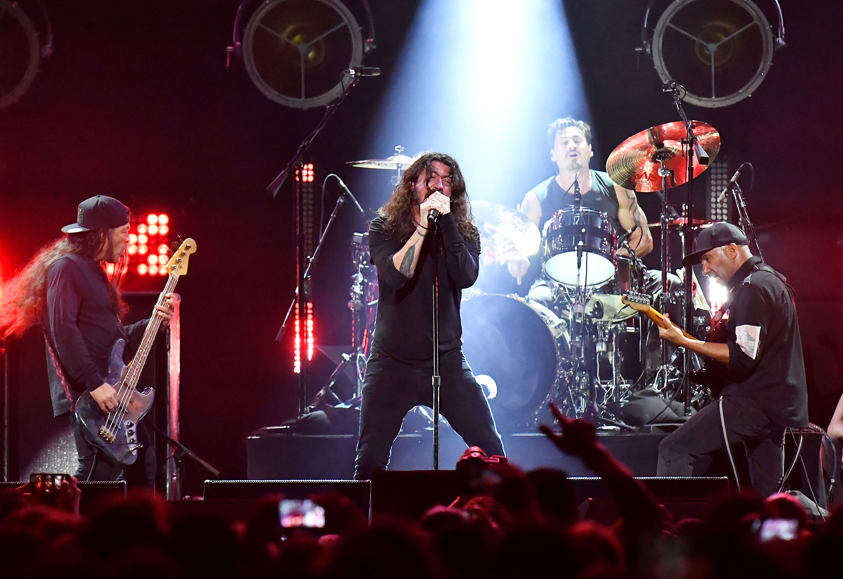 "chris cornell tribute concert - The Foo Fighters frontman performed one of Soundgarden's original songs ""No Attention"" as well as two other tunes previously covered by the band."