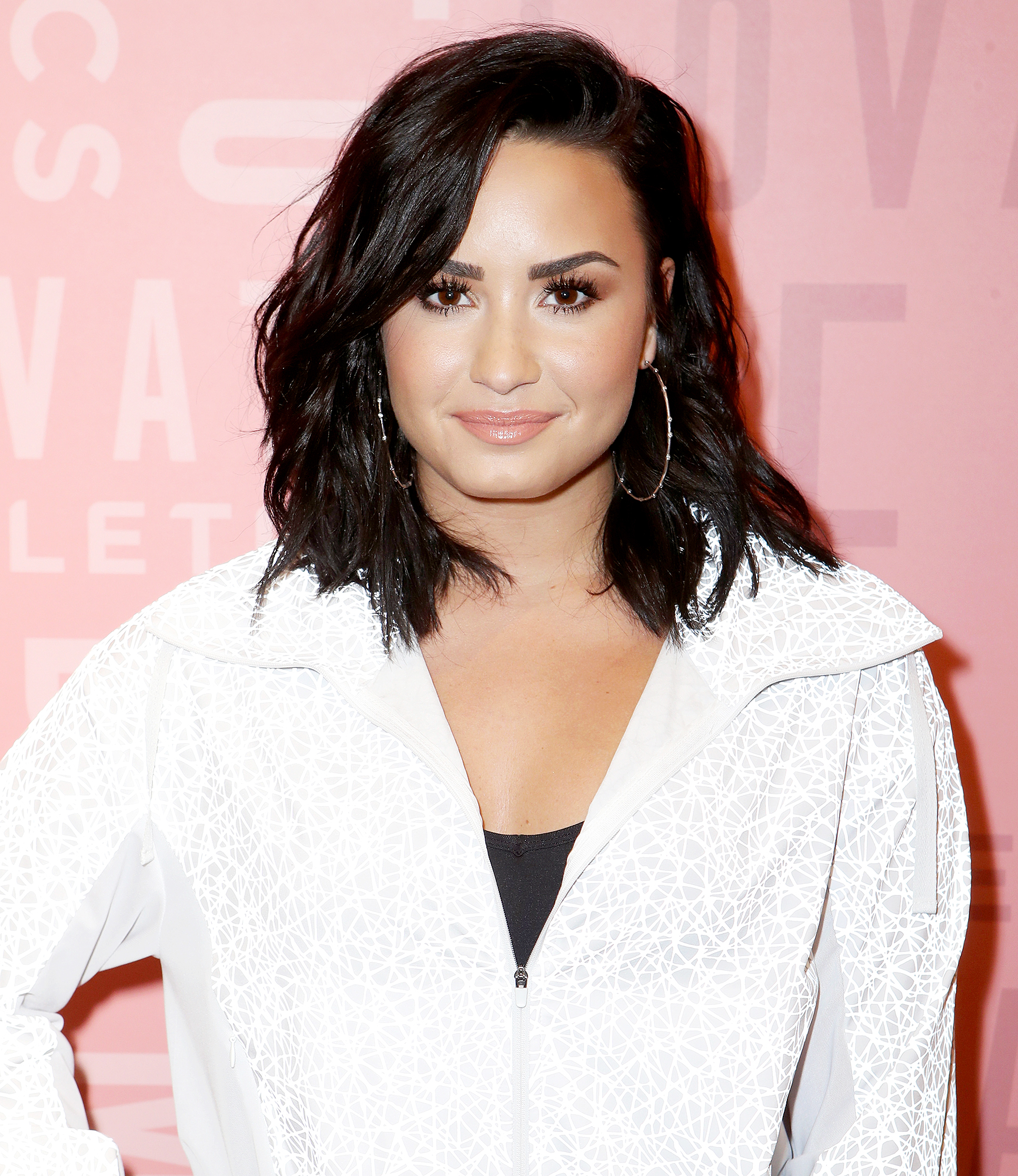 demi-lovato-sober-meme - Demi Lovato attends the Demi Lovato visits Fabletics at The Village at Westfield Topanga on May 18, 2018 in Woodland Hills, California.