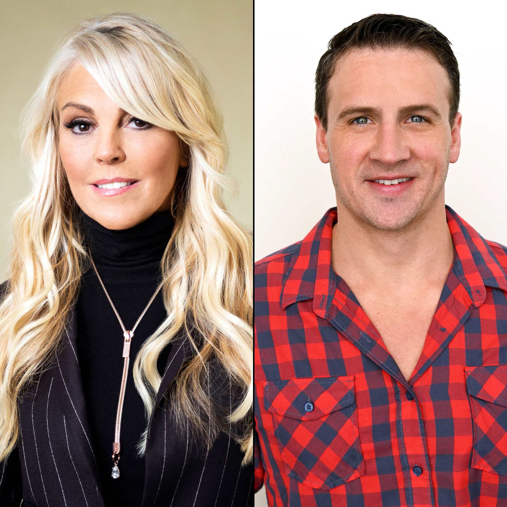 BIG-BROTHER-CELEBRITY-EDITION Dina Lohan Ryan Lochte - Dina Lohan and Ryan Lochte.