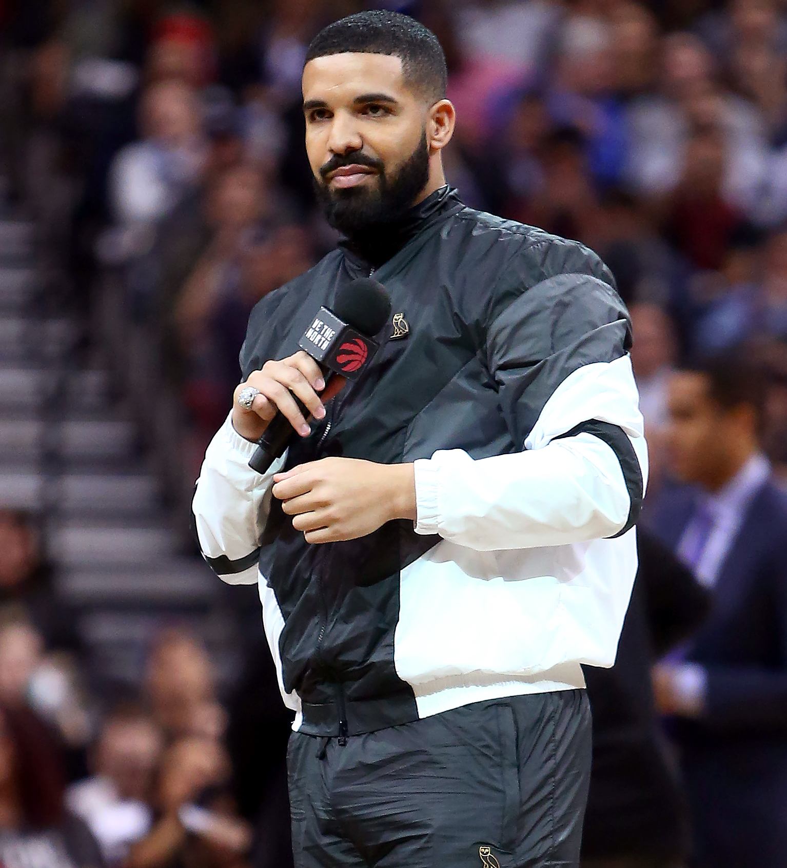 """drake-feud-2 - In October 2018, Drake admitted on HBO's The Shop that he believed West went behind his back and revealed that the """"One Dance"""" rapper had a son that he was choosing to keep out of the spotlight at the time. """"I tell him I'm having trouble with my son's mother. We had a conversation. I wake up, and all these dates are out,"""" the """"Hotline Bling"""" crooner recalled."""