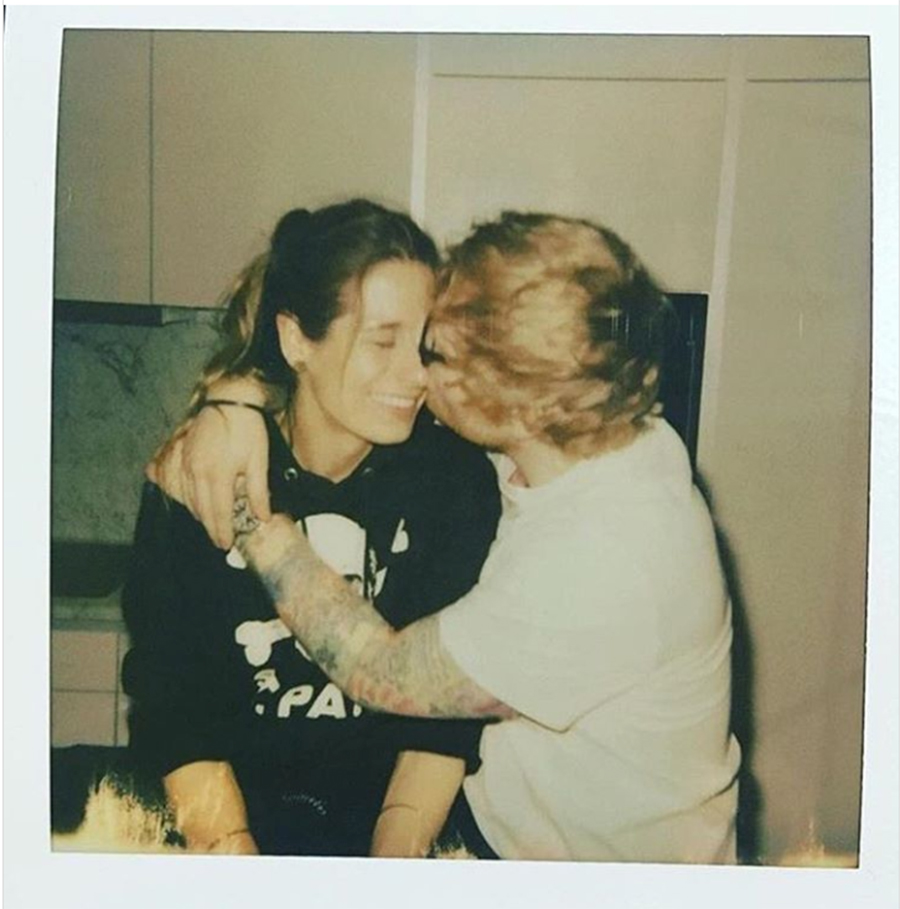 d Sheeran and Cherry Seaborn Relationship Timeline
