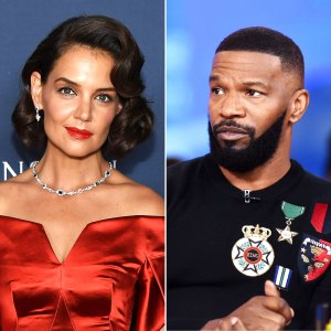 katie holmes 'infatuated' with jamie foxx