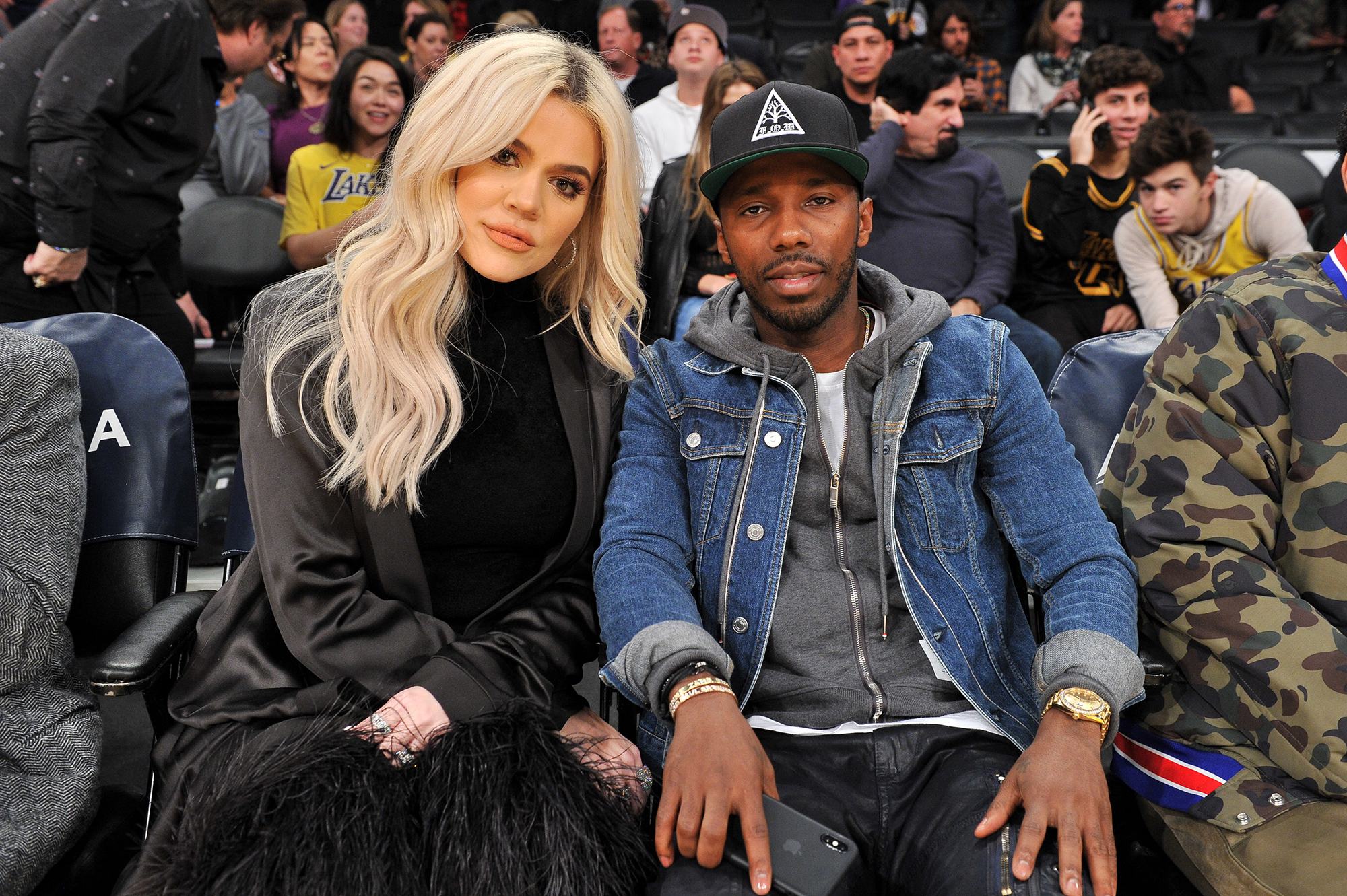 Khloe Kardashian Supports Beau Tristan Thompson Courtside at Cleveland Cavaliers Game - Kardashian sat next to sports agent Rich Paul during the game, and the two appeared to enjoy each other's company, even chatting together during the four quarters. Paul, 37, represents some of the NBA's biggest talents, including Thompson.