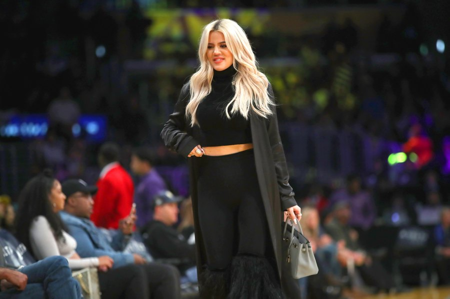 Khloe Kardashian Supports Beau Tristan Thompson Courtside at Cleveland Cavaliers Game
