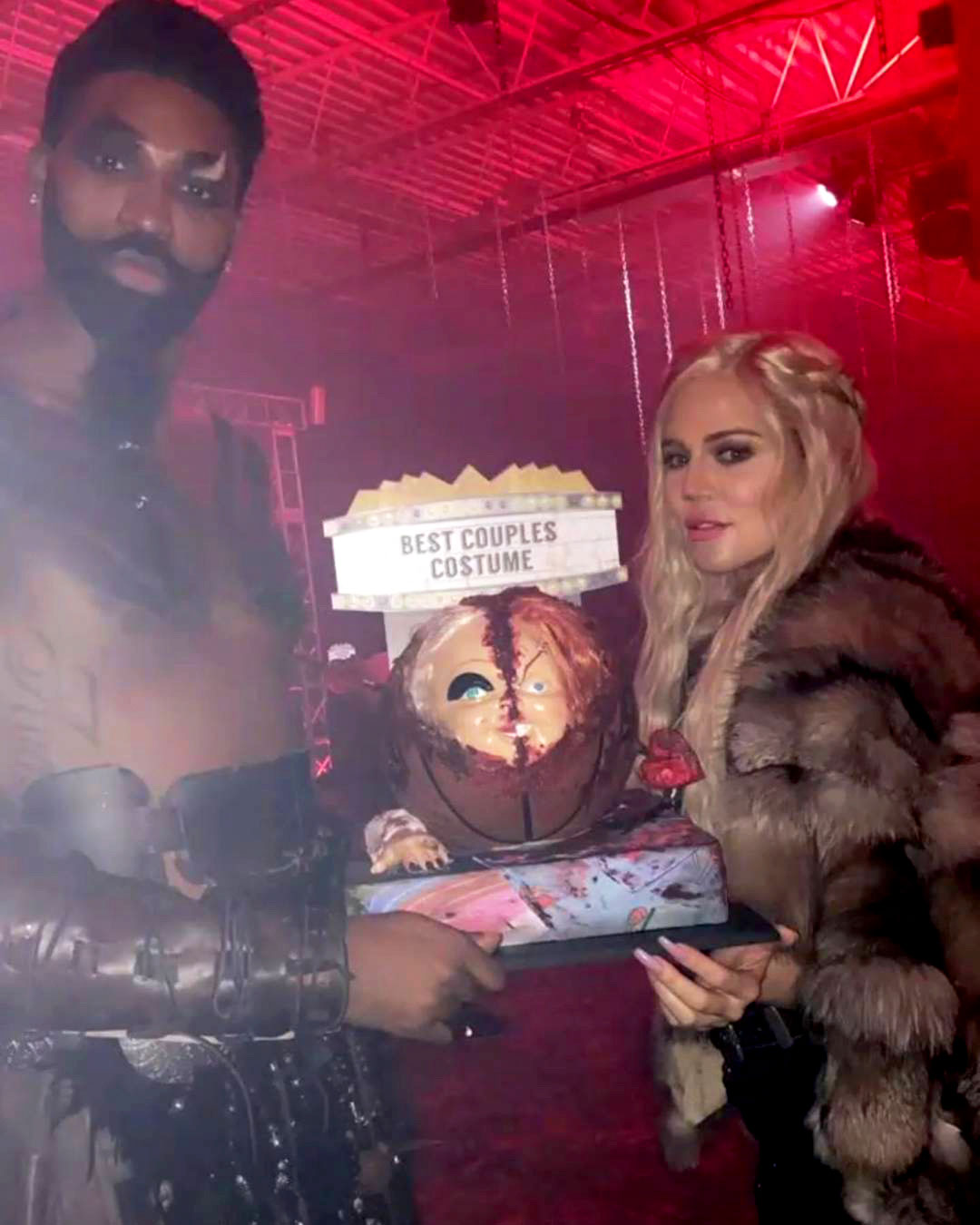 """Tristan Khloe Flirt Social Media - In November 2018, after saying he was """"#blessed"""" to be spending Thanksgiving with Kardashian and True, the Cleveland Cavaliers player referred to his girlfriend as """"this fine ass chef."""""""