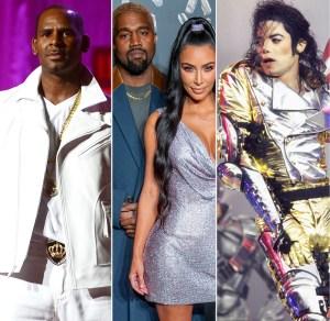 R. Kelly, Kanye West, Kim Kardashian West, Michael Jackson