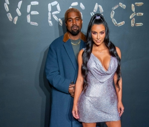 Kanye West and Kim Kardashian West surrogate