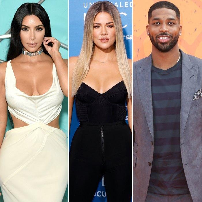 Kim Kardashian Accidentally Calls Khloe Kardashian an 'Idiot' for Staying With Tristan Thompson After Cheating Scandal