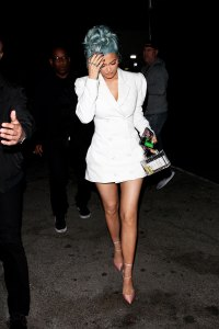 Kylie Jenner pantless new years eve