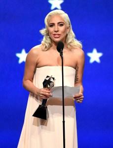 Lady Gaga Wins Best Song Critics' Choice 2019