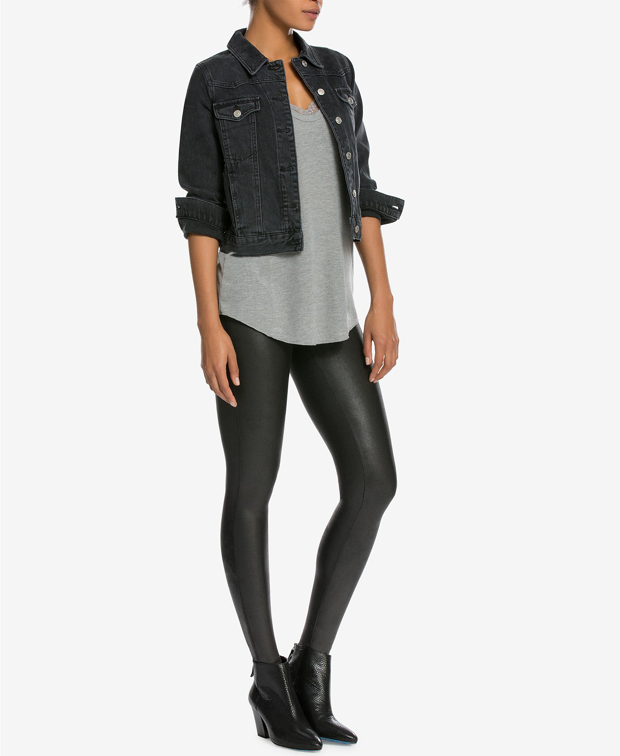 Spanx Faux Leather Leggings Everyone Is Obsessed With Are ...
