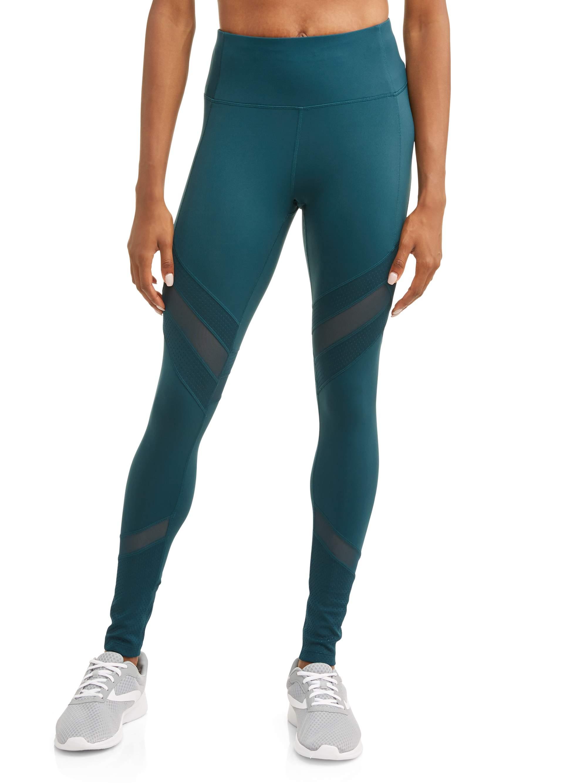 mesh insert performance leggings
