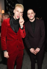 Pete Davidson Parties at Golden Globes With Machine Gun Kelly, Tiffany Haddish