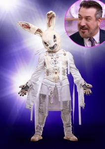 joey fatone says not the masked rabbit