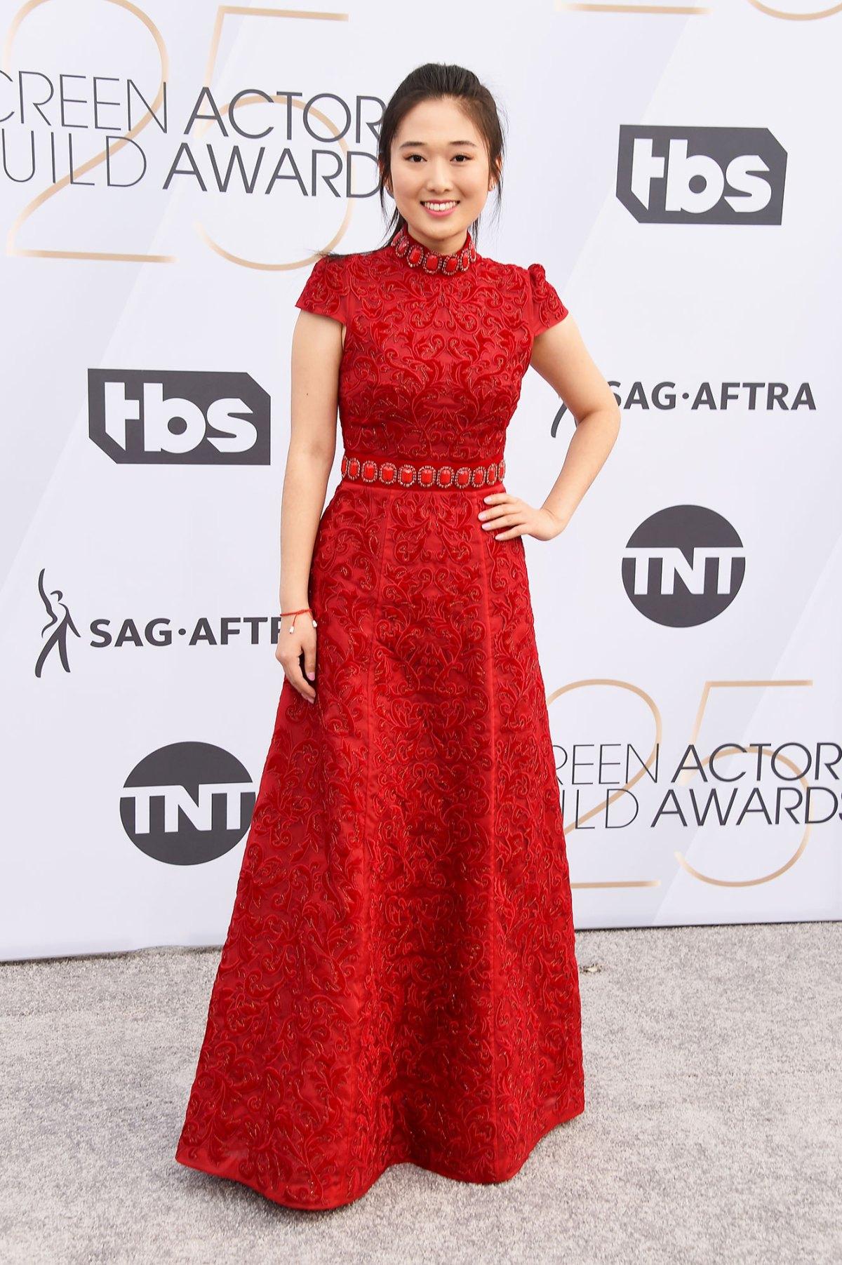 c5df67b60eeb SAG Awards 2019 Red Carpet Fashion: See Celeb Dresses, Gowns