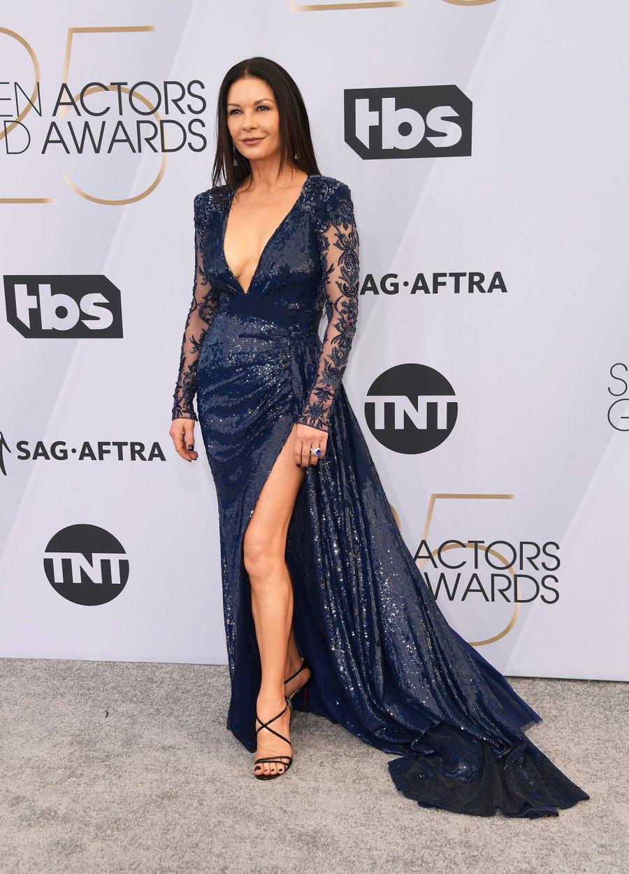 SAG Awards 2019 Catherine Zeta-Jones