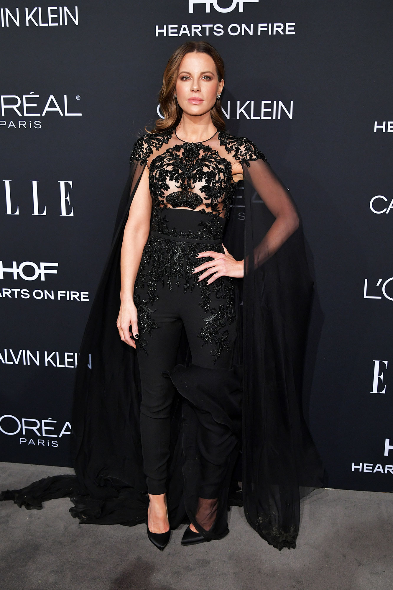 Kate Beckinsale - In crepe Zuhair Murad Couture on Oct. 15.