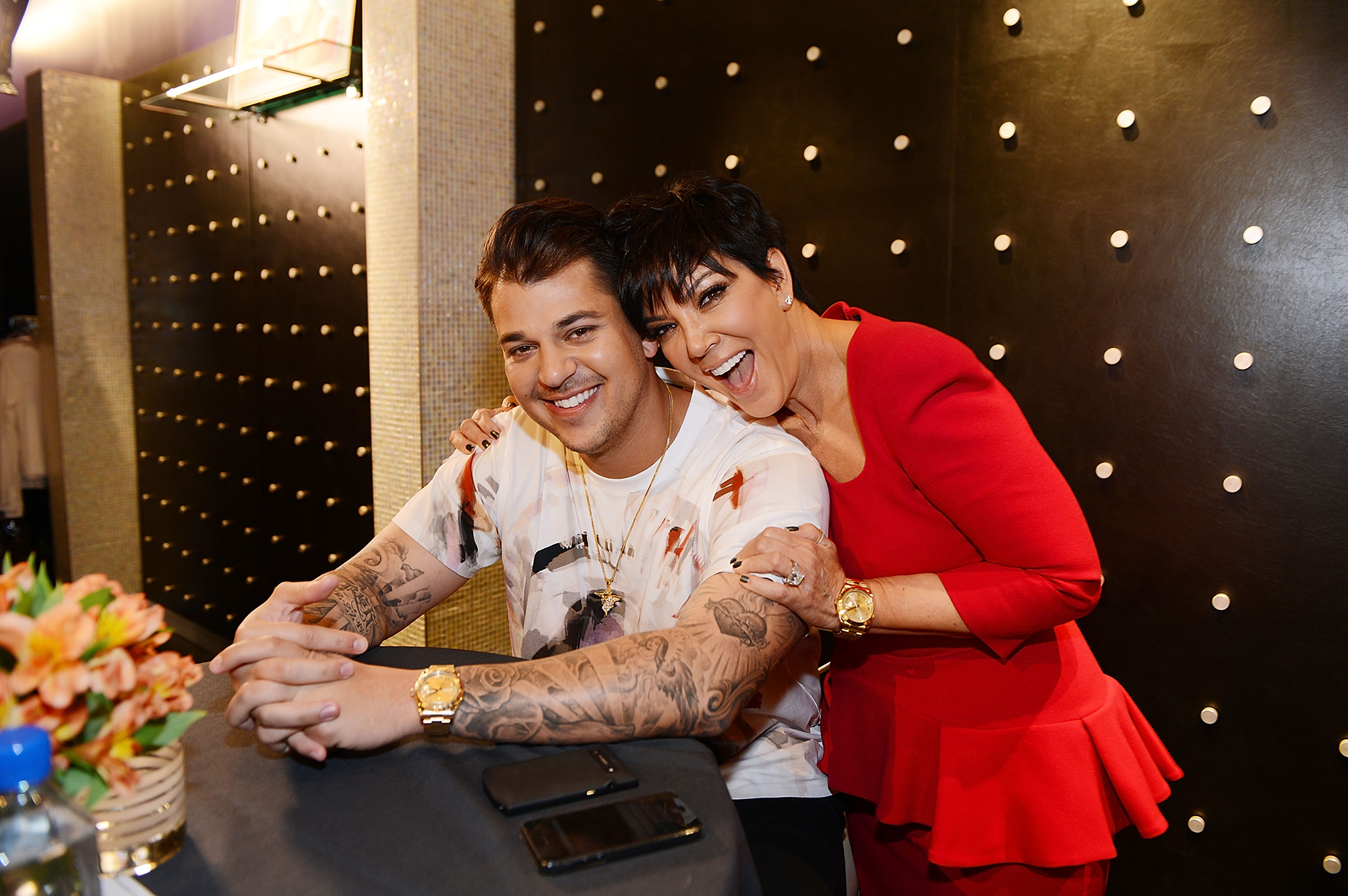 Rob Kardashian Will Return to 'Keeping Up With the Kardashians' in Season 16 - Rob Kardashian and Kris Jenner