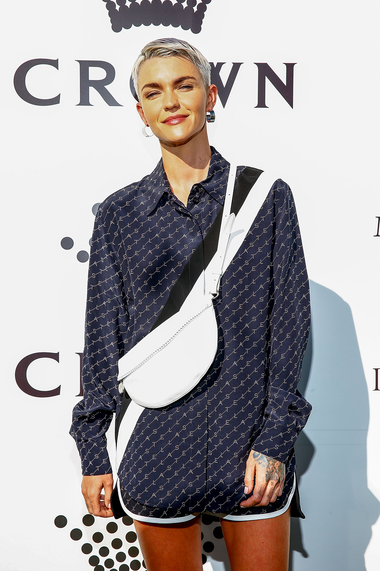 Ruby Rose - Ruby Rose arrives at the 2019 Crown IMG Tennis Party at Crown Entertainment Complex on January 13, 2019 in Melbourne, Australia.