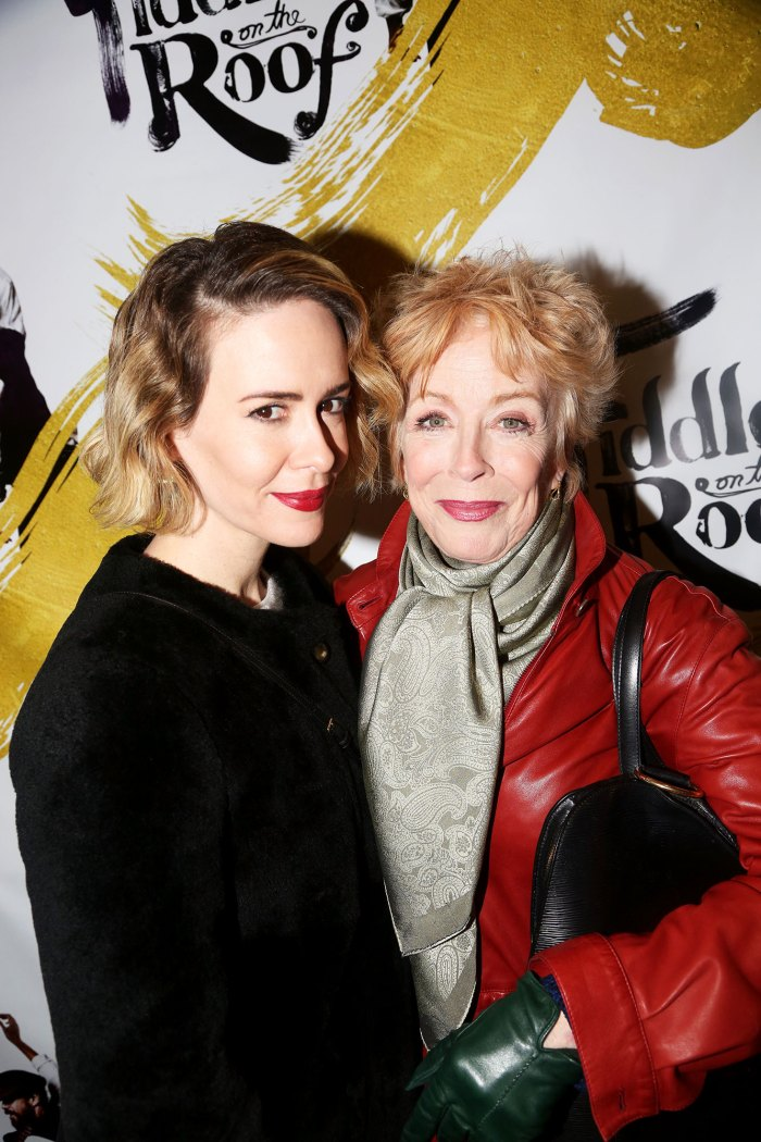 Sarah Paulson, 44, Reveals Her Romance Started When Holland Taylor, 76, Slid Into Her DMs