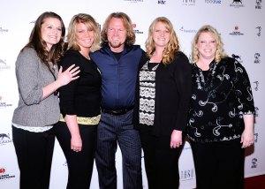 Robyn Brown, Meri Brown, Kody Brown, Christine Brown and Janelle Brown sister wives