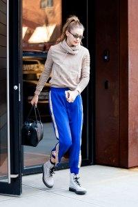 Gigi Hadid Tiny Sunglasses