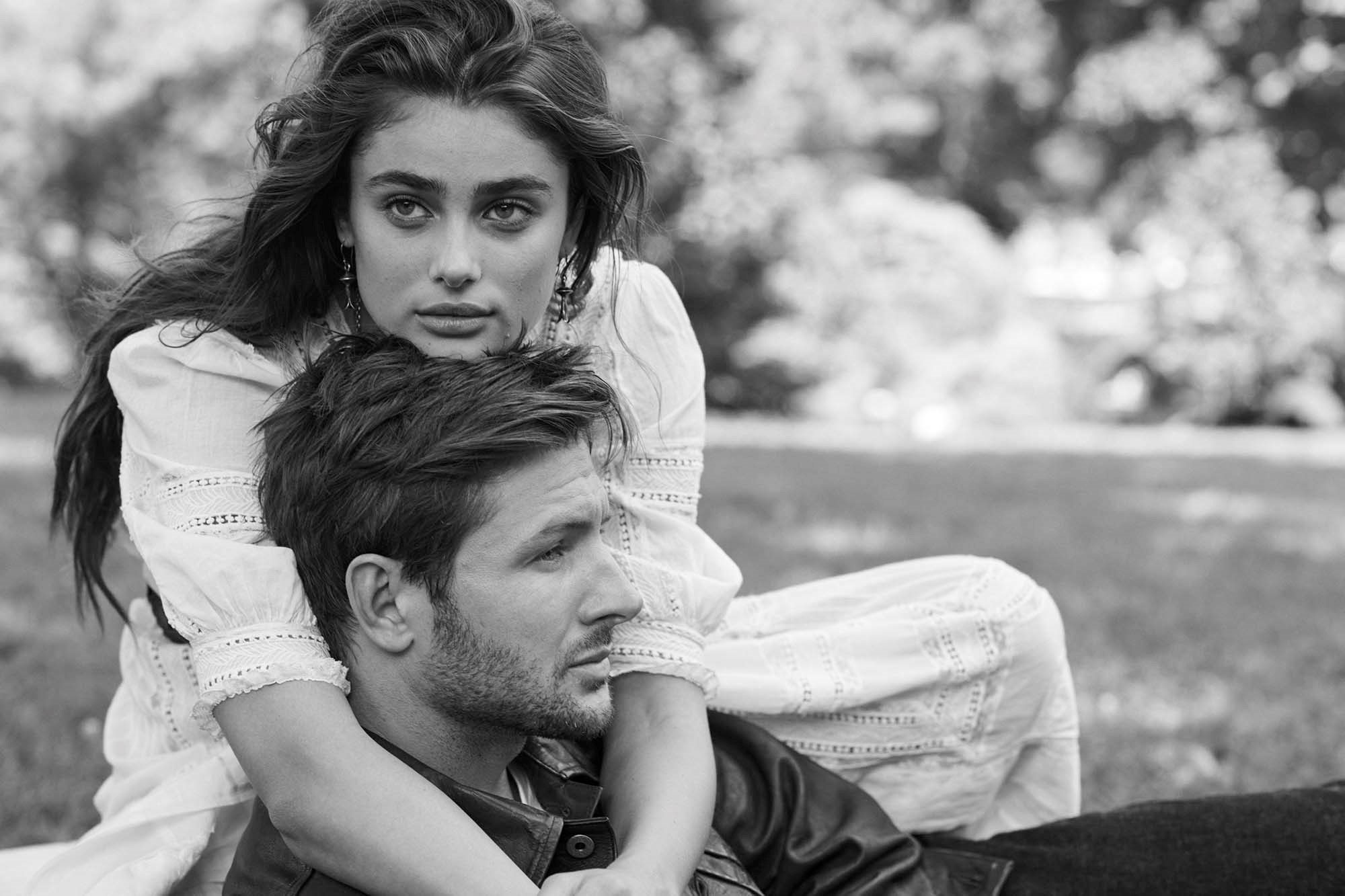 Taylor Hill Talks Filming Her Ralph Lauren Fragrance Campaign With Her Boyfriend and Labradoodle