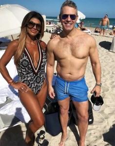 Teresa Guidice and Andy Cohen tan